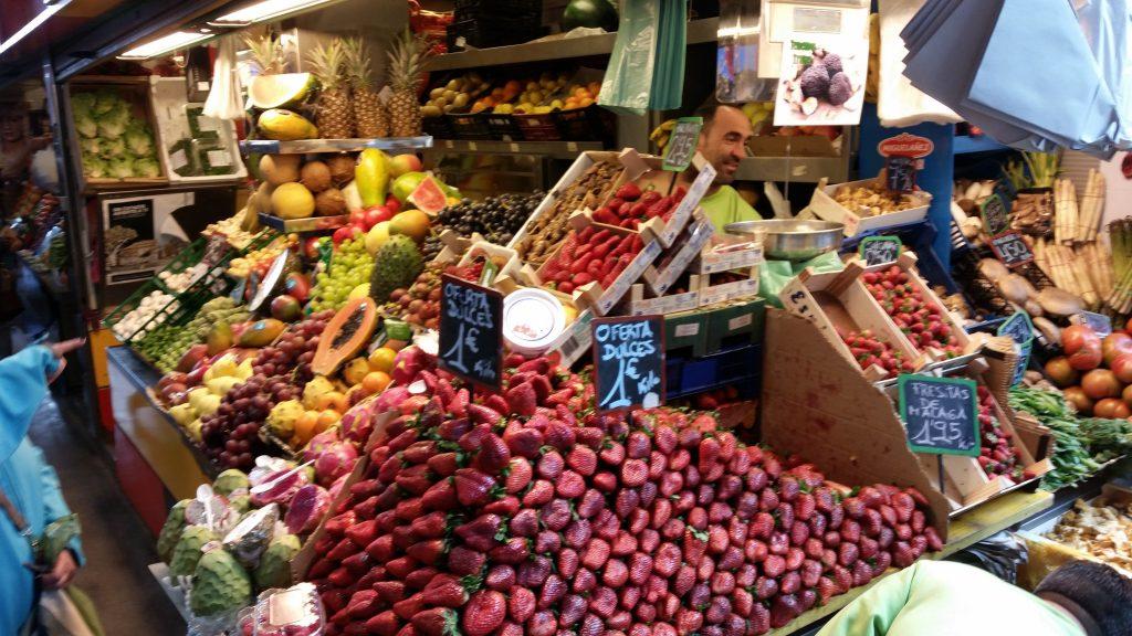 Málaga market
