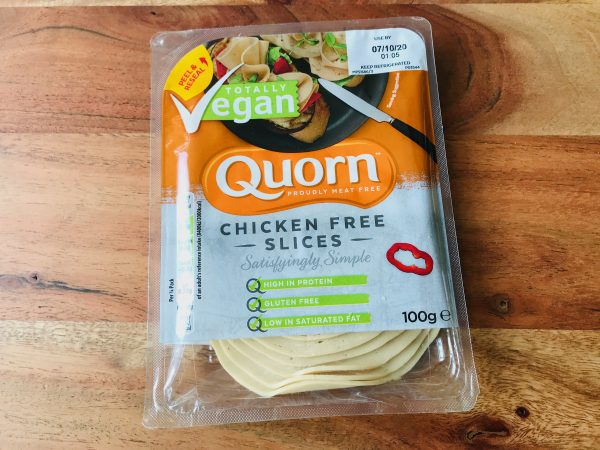 quorn chicken free slices